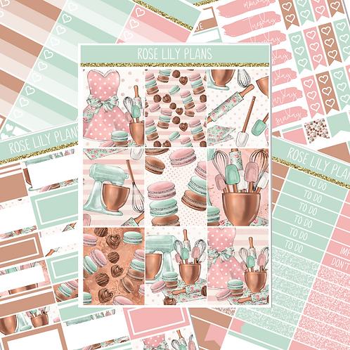 Let's Bake Sticker Kit