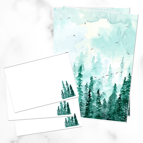 Forest Writing Set