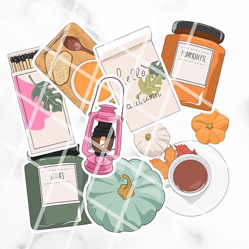 Autumnal Sticker Pack #1