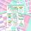 Thumbnail: Christmas Baubles Sticker Kit