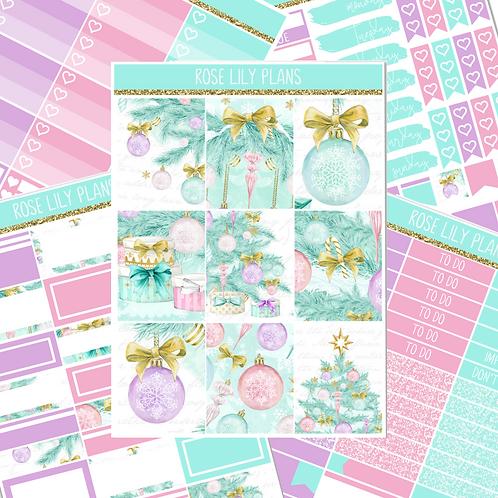 Christmas Baubles Sticker Kit