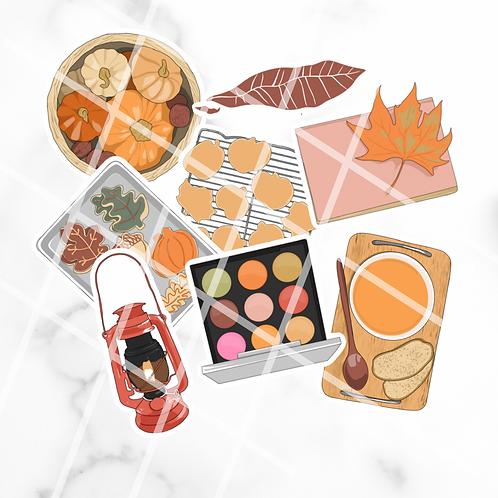 Autumnal Sticker Pack #2