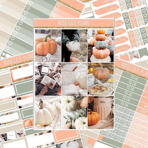 Pumpkin Patch Sticker Kit
