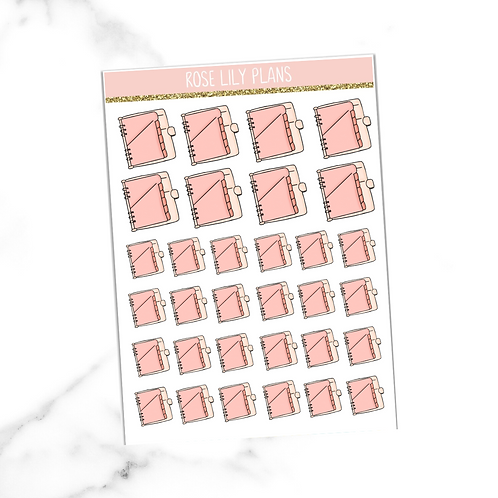 Pink Planners #4