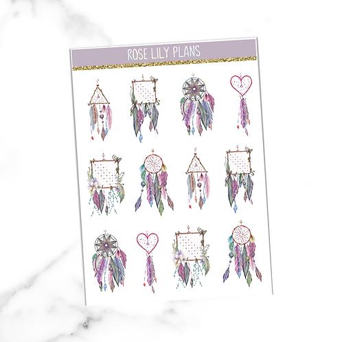 Dreamcatchers Sticker Sheet