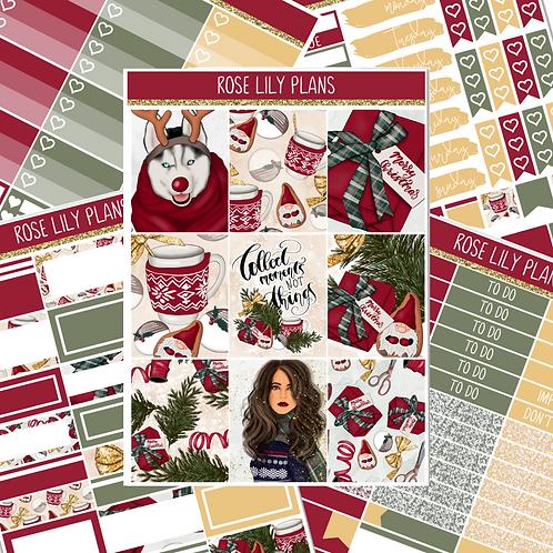 Christmas Moments Sticker Kit