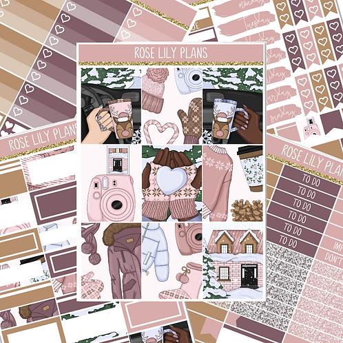 Snow Days Sticker Kit