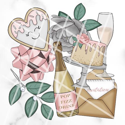 Classy Celebrations Sticker Pack #1