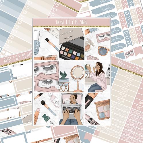 Glam Girl Sticker Kit