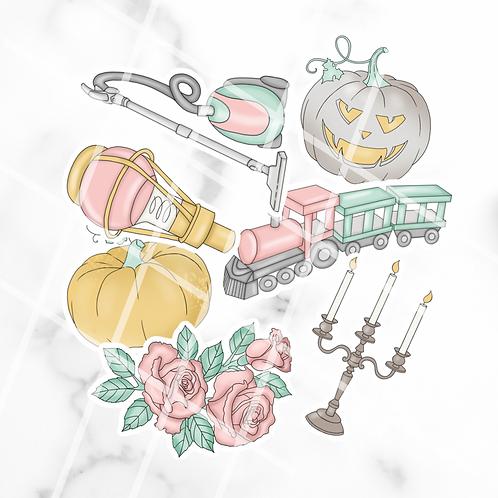 Boo Sticker Pack #1
