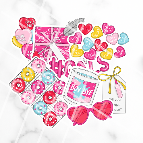 Galentines Sticker Pack #1