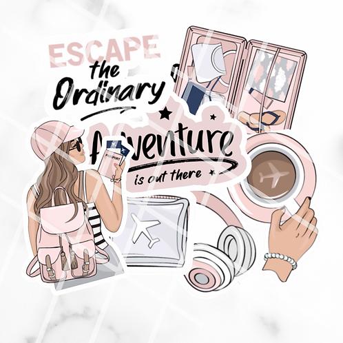 Escape The Ordinary Sticker Pack #1