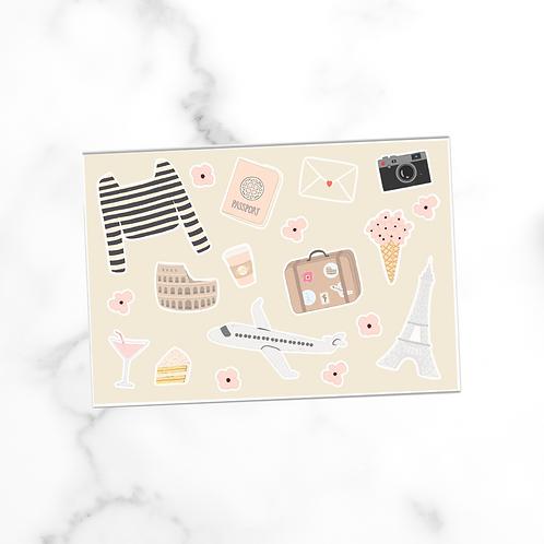 Travel Elements | Postcard