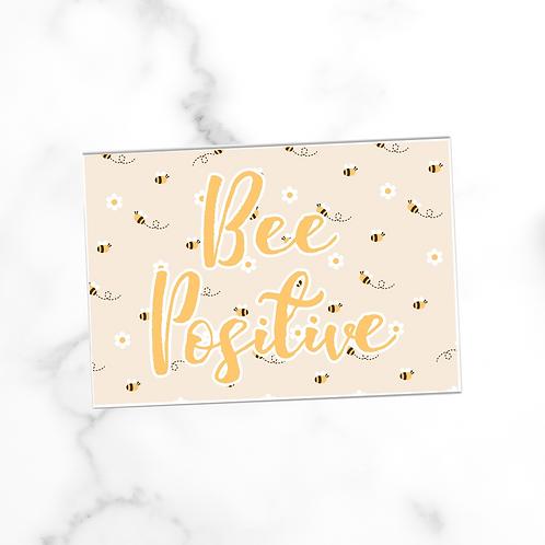 Bee Positive | Postcard