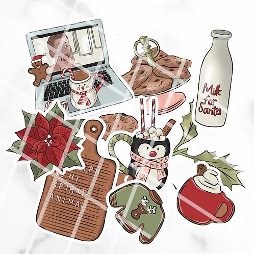 Christmas Movies Sticker Pack #1