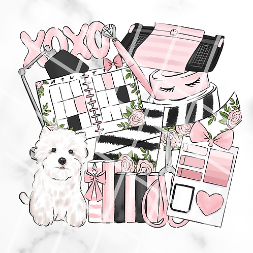 Love To Plan Sticker Pack #1