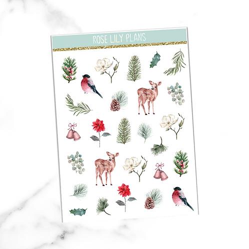 Woodlands Sticker Sheet