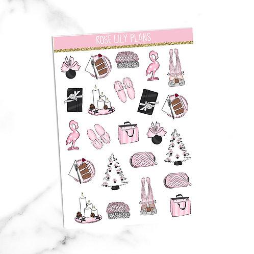 Cute Christmas Sticker Sheet