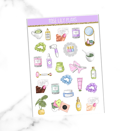 Take Care Of Yourself Sticker Sheet