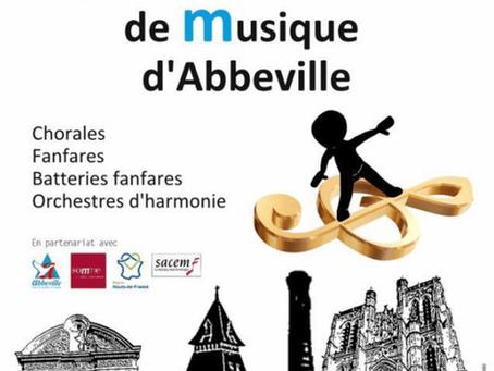 La chorale participe au concours national de musique d'Abbeville !