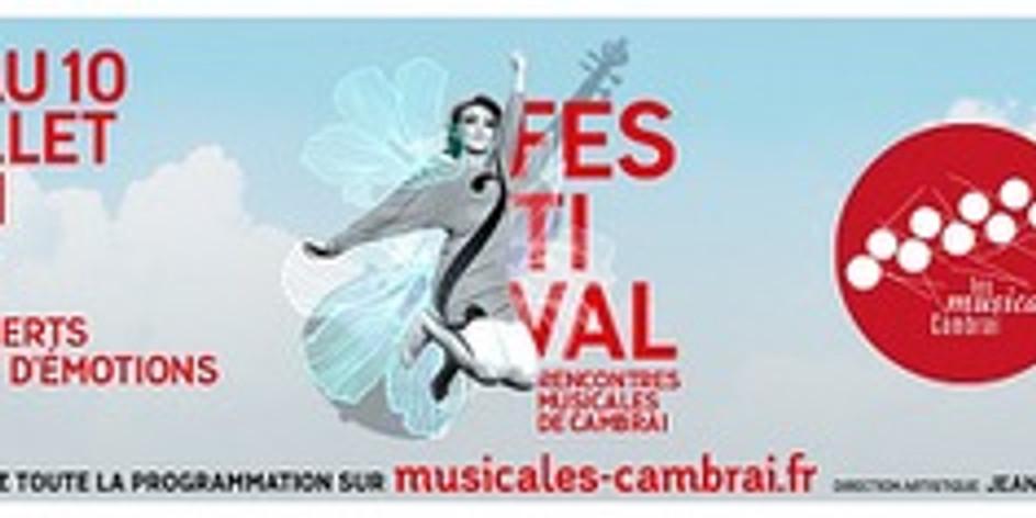 "Festival ""Les rencontres musicales de Cambrai"""