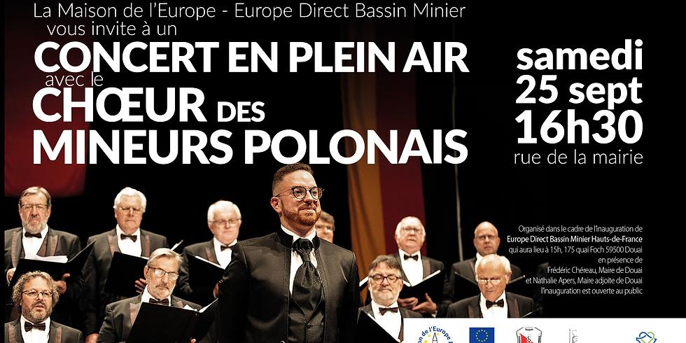 Concert en plein air à Douai