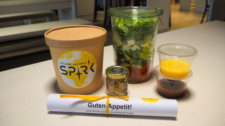 SPRK Lunchpaket für Meet & Eat