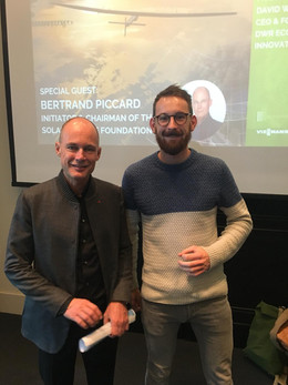 Meeting Bertrand Piccard