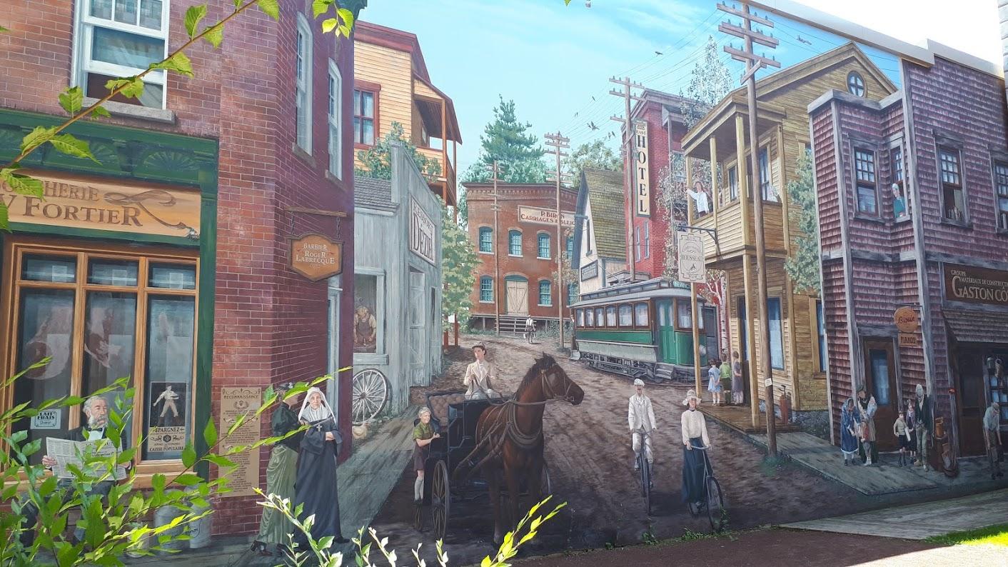 Murals of Sherbrooke