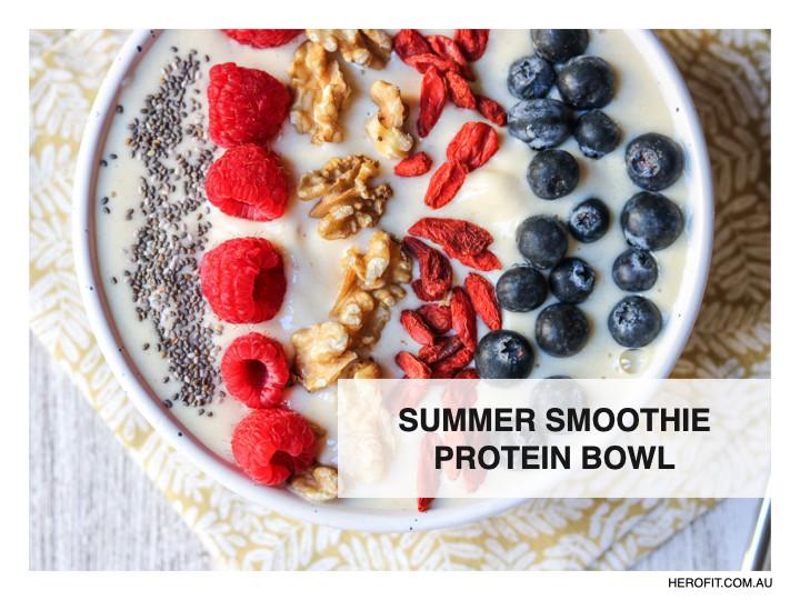 Summer Smoothie Protein Bowl
