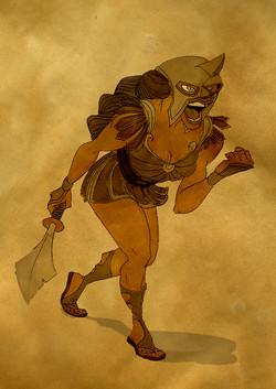 character_design_challenge_gladiator_cle