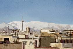 Teheran background design