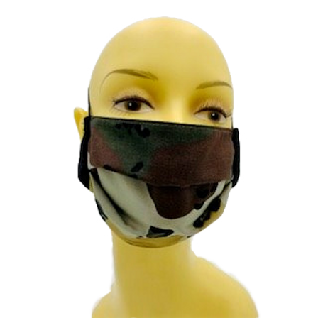 Camouflage I Face Mask