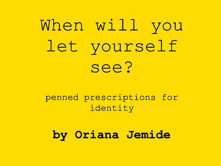 Review: When will you let yourself see?