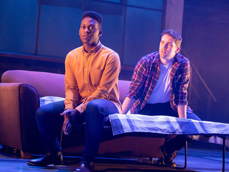 A Theatre Review: Leave To Remain