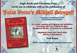 Launch of Jules Verne's Mikhail Strogoff!