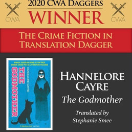 The Godmother wins CWA Crime Fiction in Translation Dagger 2020