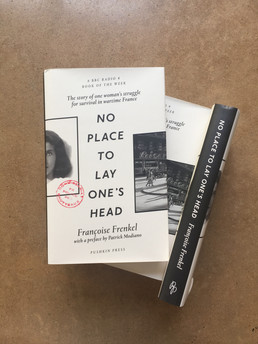 "Pushkin Press publishes ""No Place to Lay One's Head"" in UK"