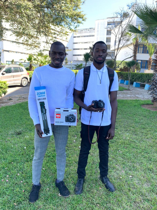 GASAM has been donated with a Camera