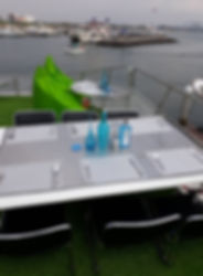 Roof top dining yacht charter Pattaya