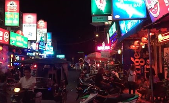 Phnom Penh Red Light Area Filming Cambodia