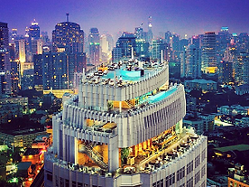Bankok Skyline Filming Thailand