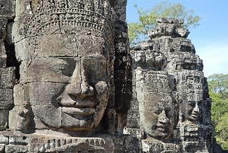 Angkor Thom Filming Cambodia