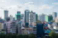 Phnom Penh Skyline Filming Cambodia