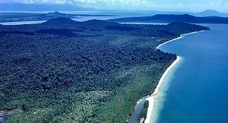 Cambodia Coastline Aeria Filming