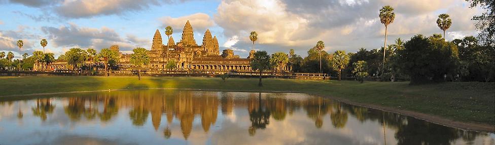 Angkor Wat Filming Cambodia