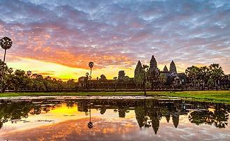 Angkor Wat Filmng Cambodia