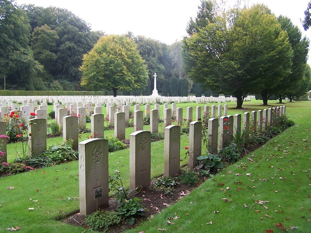 War Graves Commission, Reichswald Forest cemetery