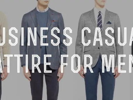 What are the do's and don'ts when it comes to business casual menswear?