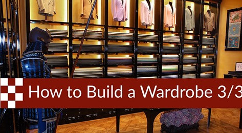 How to Build a Wardrobe: the Summer Suit and the Formal Wear